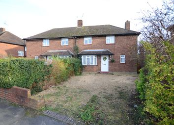 Thumbnail 3 bed semi-detached house for sale in Friend Avenue, Aldershot, Hampshire