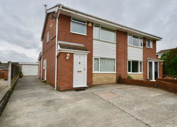Thumbnail 3 bed semi-detached house for sale in Sandiway Drive, Briercliffe, Burnley