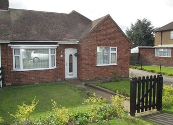 Thumbnail 2 bed semi-detached bungalow for sale in Doctors Fields, Earl Shilton, Leicester