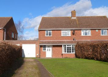 Thumbnail 3 bed semi-detached house to rent in Corsend Road, Hartpury, Gloucester