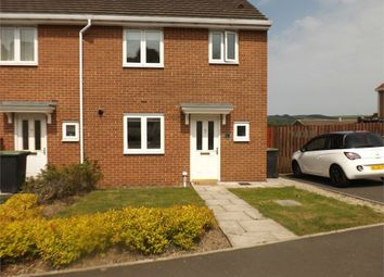 Thumbnail 3 bed semi-detached house to rent in Hilltop View, Langley Park, Durham
