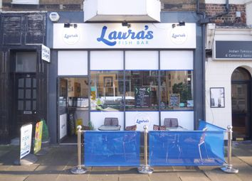 Thumbnail Restaurant/cafe for sale in Laura's Fish Bar, 32 Station Road, Whitley Bay