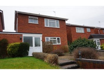 Thumbnail 3 bed link-detached house for sale in School Lane, Badsey