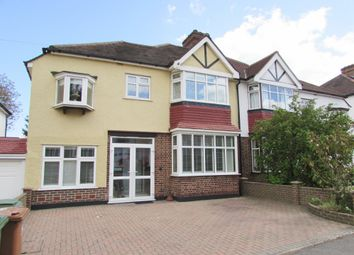 Thumbnail 4 bedroom semi-detached house for sale in Anglesey Court Road, Carshalton