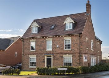 Thumbnail 5 bedroom detached house for sale in Bosworth Way, Anstey, Leicester
