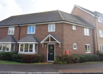 Thumbnail 4 bed terraced house for sale in Skye Close, Alwalton, Peterborough