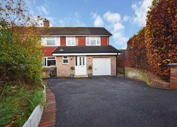 Thumbnail 4 bed semi-detached house for sale in Pine Walk, Uckfield