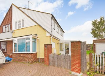 Thumbnail 3 bed semi-detached bungalow for sale in Romney Way, Hythe