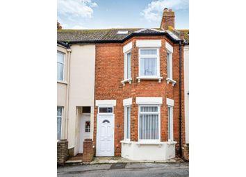 Thumbnail 4 bed terraced house for sale in Fernbank Crescent, Folkestone