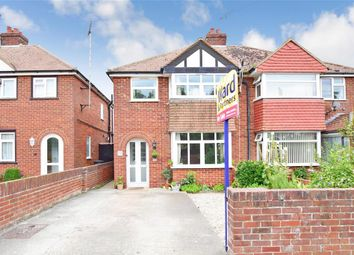 Thumbnail 3 bed semi-detached house for sale in Nash Road, Margate, Kent