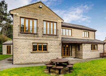 Thumbnail 5 bedroom detached house for sale in Upper Brow Road, Paddock, Huddersfield
