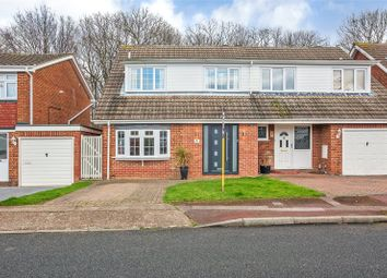 Thumbnail 4 bedroom semi-detached house for sale in Rugby Close, Chatham, Kent