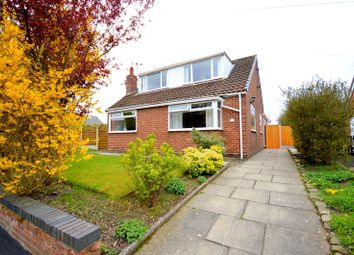 Thumbnail 4 bedroom detached bungalow for sale in Smithy Close, Cronton, Widnes
