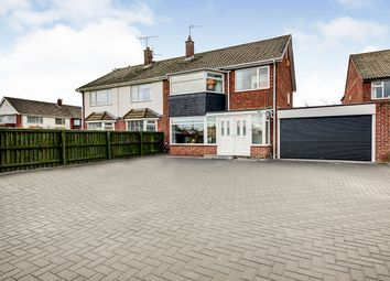 Thumbnail 3 bed semi-detached house for sale in Malvern Road, Preston Grange, North Shields, Tyne And Wear
