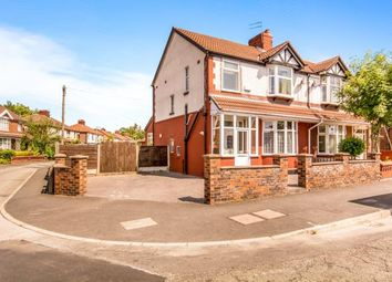 Thumbnail 3 bed semi-detached house for sale in Burnage Hall Road, Manchester, Greater Manchester, Uk