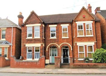 Thumbnail 4 bed semi-detached house to rent in Castle Road, Bedford
