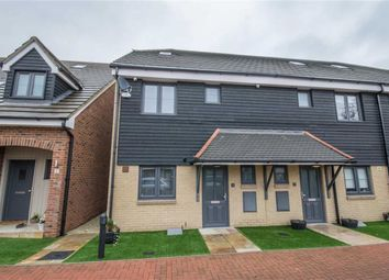 Thumbnail 3 bedroom end terrace house for sale in De Burgh Close, Broxbourne, Hertfordshire