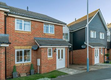 Thumbnail 3 bed terraced house for sale in Campbell Road, Hawkinge, Folkestone, Kent, Kent