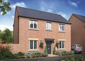 "Thumbnail 3 bedroom detached house for sale in ""The Belvoir"" at Barleythorpe Road, Oakham"