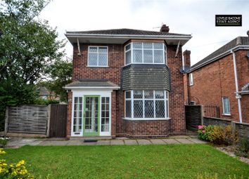 Thumbnail 3 bed detached house for sale in Rosemary Avenue, Grimsby