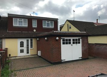 Thumbnail 4 bed semi-detached bungalow to rent in Theobalds Road, Cuffley, Potters Bar