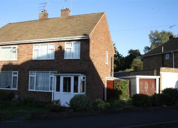 Thumbnail 3 bed semi-detached house for sale in Kirkstone Close, Glenfield, Leicester