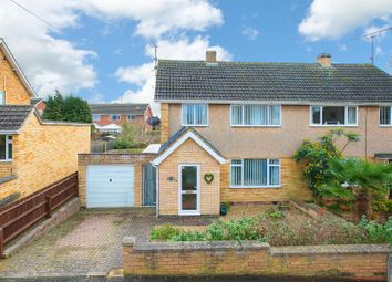 Thumbnail 3 bed semi-detached house for sale in Ringstead Close, Barton Seagrave, Kettering