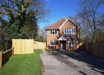 Thumbnail 4 bed detached house for sale in Mytchett Road, Mytchett, Camberley