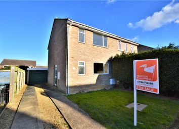 Thumbnail 2 bed semi-detached house for sale in Gainsborough Road, Stamford