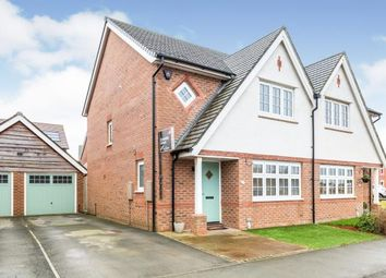 Thumbnail 3 bed semi-detached house for sale in Brookwood Way, Buckshaw Village, Chorley, Lancashire