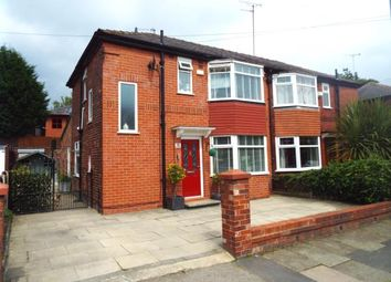 Thumbnail 3 bedroom semi-detached house for sale in Rothesay Road, Pendlebury, Swinton, Manchester
