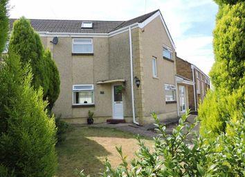 Thumbnail 2 bed semi-detached house for sale in Blaencefn, Winch Wen, Swansea