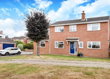 Thumbnail 4 bed detached house for sale in Orchard Close, Hail Weston, St. Neots