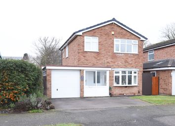 Thumbnail 3 bed detached house for sale in Edgar Close, Tamworth