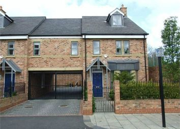 Thumbnail 4 bed end terrace house to rent in Norham Place, Jesmond, Newcastle, Tyne And Wear