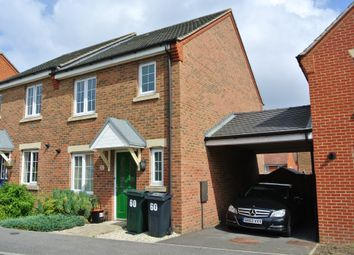 Thumbnail 3 bed semi-detached house to rent in Swaffer Way, Singleton Hill, Ashford