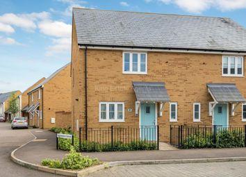Thumbnail 2 bedroom semi-detached house for sale in Antonia Way, Brooklands, Milton Keynes, Buckinghamshire