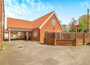 Thumbnail 4 bed bungalow for sale in Back Lane, Martham, Great Yarmouth