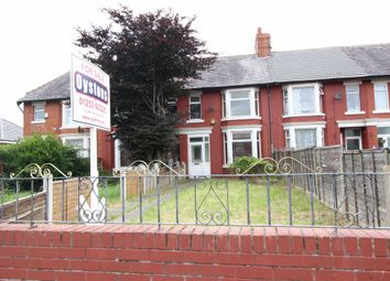Thumbnail 3 bedroom terraced house for sale in Cromwell Road, Blackpool
