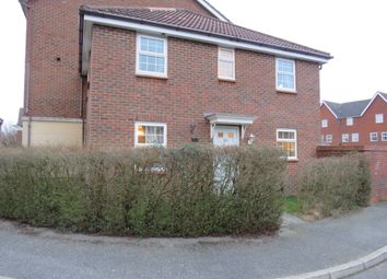 Thumbnail 3 bedroom end terrace house for sale in Abbey Road, Wymondham