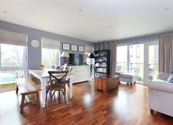 Thumbnail 2 bedroom flat for sale in Severn House, Enterprise Way, Wandsworth, London