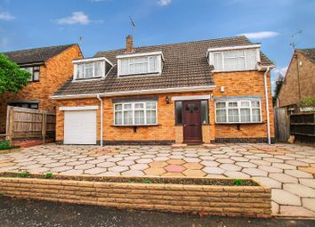Thumbnail 4 bed detached house for sale in Southernhay Close, Stoneygate, Leicester