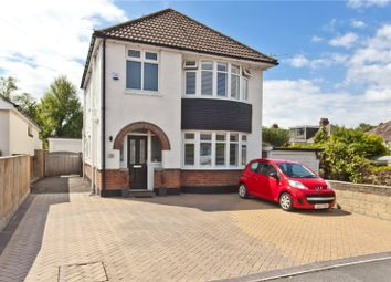 Thumbnail 3 bedroom detached house for sale in Leslie Road, Whitecliff, Poole