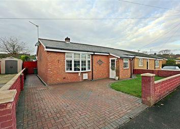 Thumbnail 3 bed semi-detached bungalow for sale in Heol Ida, Beddau, Pontypridd