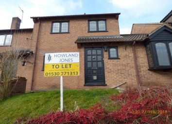 Thumbnail 3 bed terraced house to rent in Chapel Rise, Worthington, Ashby De La Zouch