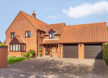 Thumbnail 4 bed detached house for sale in Paget Adams Drive, Dereham