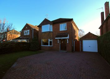 Thumbnail 3 bed detached house for sale in Hykeham Road, Lincoln