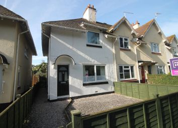 Thumbnail 2 bed end terrace house for sale in Sid Park Road, Sidmouth