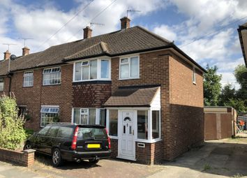 Thumbnail 3 bed semi-detached house to rent in Heron Way, Cranham, Upminster