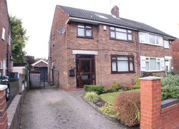 Thumbnail 3 bed semi-detached house for sale in Wellington Road, Eccles, Manchester